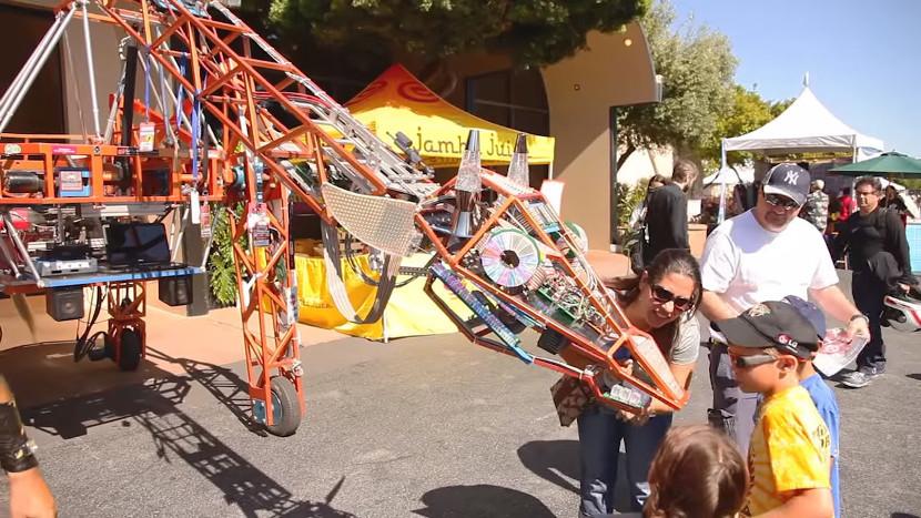 Внешняя площадка Maker Faire