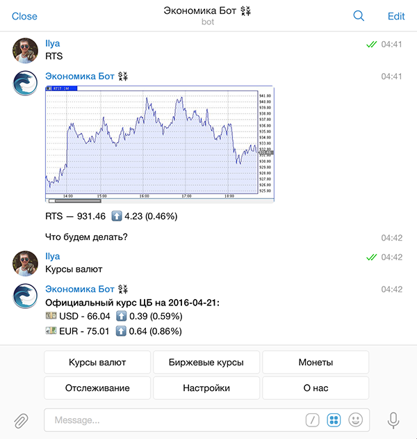Коллекция Telegram ботов для гиков - 12