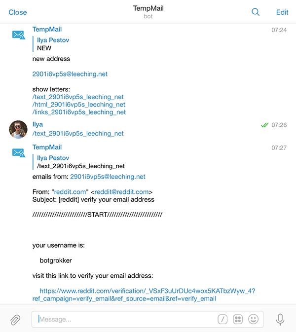 Коллекция Telegram ботов для гиков - 4