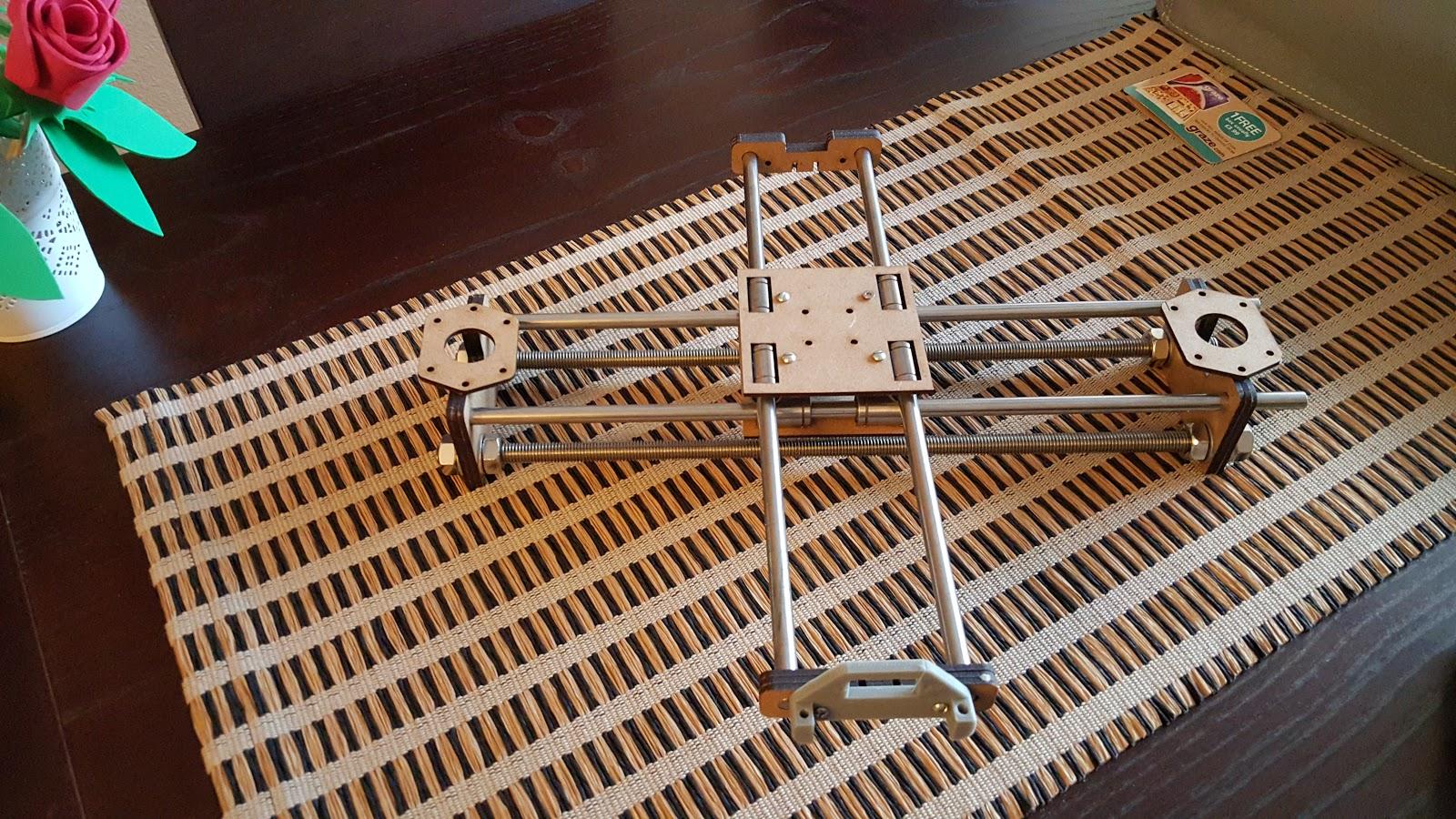 4xiDraw: самодельный перьевой плоттер на Arduino - 2