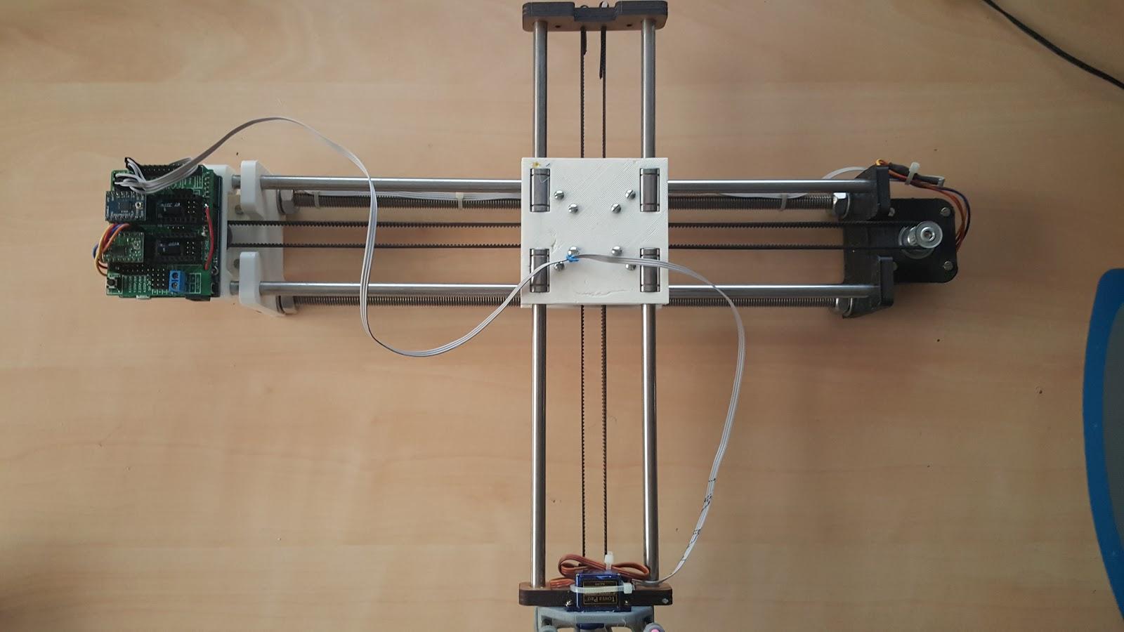 4xiDraw: самодельный перьевой плоттер на Arduino - 3