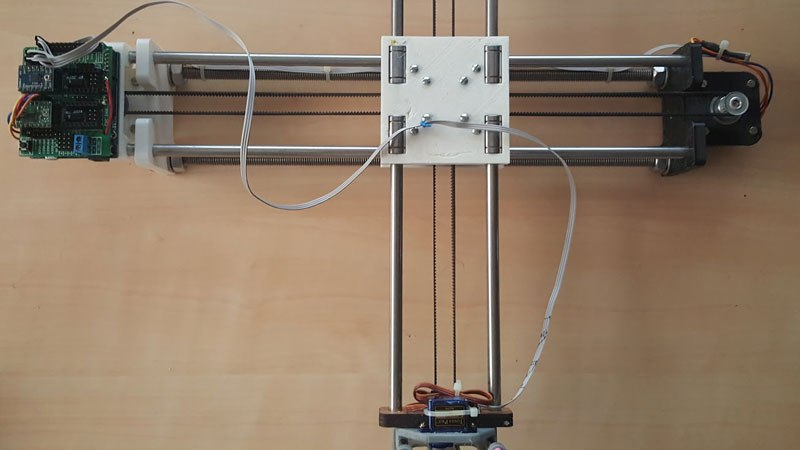 4xiDraw: самодельный перьевой плоттер на Arduino - 1
