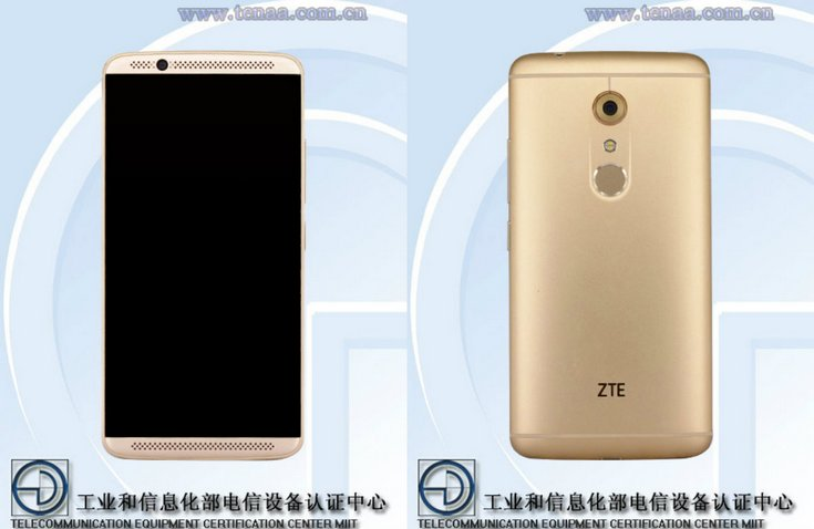 Смартфон ZTE Axon 2 будет очень похож на предшественника