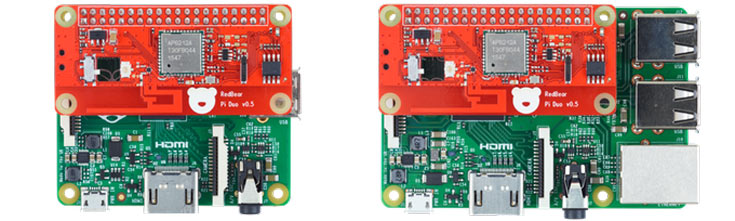Плата IoT HAT совместима с микрокомпьютерами Raspberry Pi, имеющими 40-контактный разъем GPIO