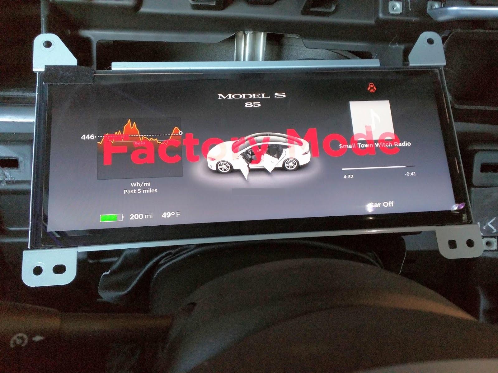 После пяти суток компиляции Gentoo Linux установилась на автомобиль Tesla Model S - 5