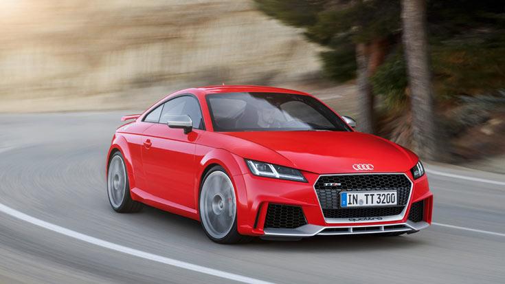 Цены на Audi TT RS Coupé начинаются с 66400 евро, на Audi TT RS Roadster — с 69200 евро