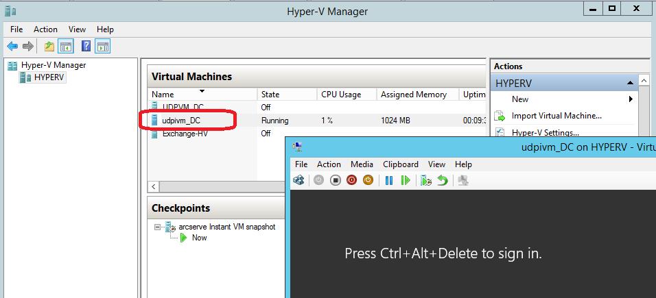 Восстановить за 60 секунд (или как ускорить восстановление данных при помощи Arcserve UDP) - 25