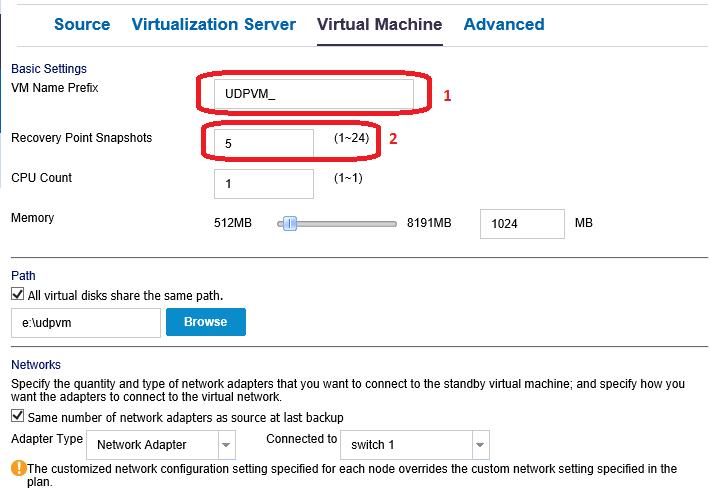 Восстановить за 60 секунд (или как ускорить восстановление данных при помощи Arcserve UDP) - 7