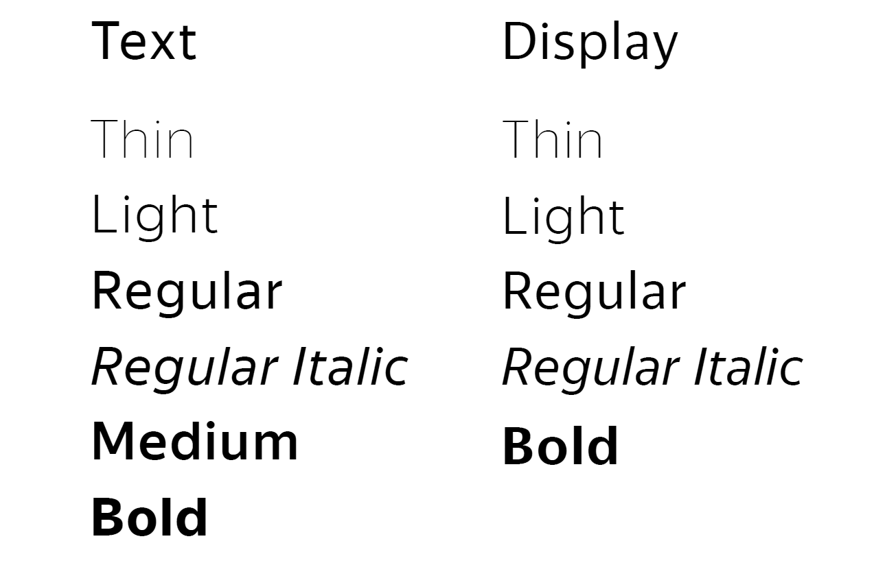 «Яндекс» разработал фирменный шрифт - 4