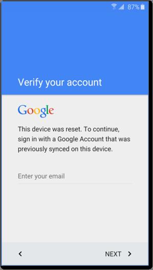 Factory reset protection: новый подход к защите персональных данных в Android - 4