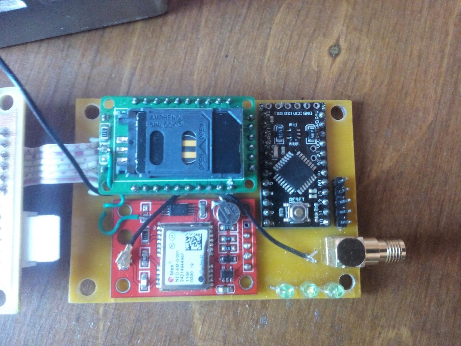 GPS трекер для автомобиля своими руками - 11