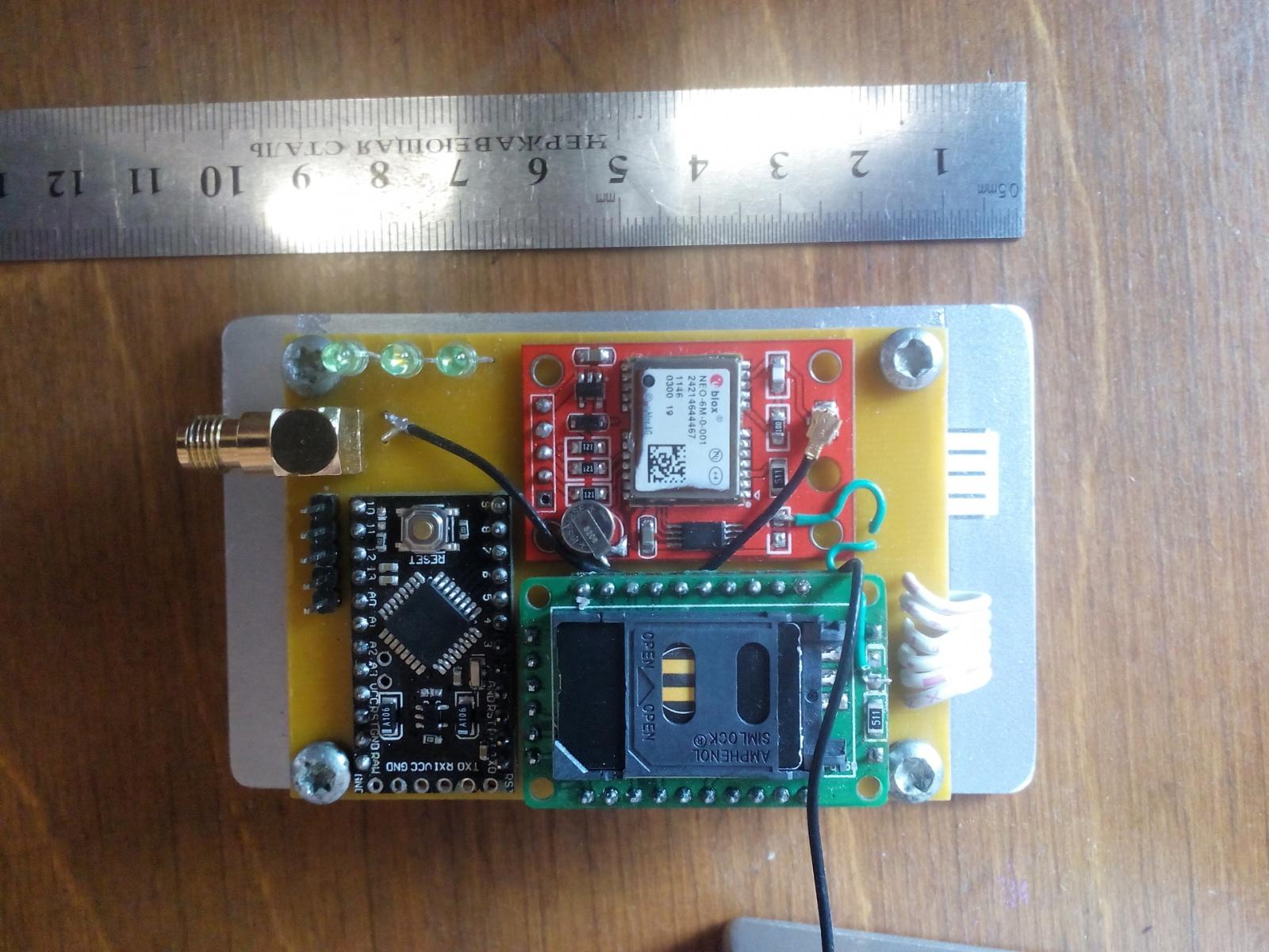 GPS трекер для автомобиля своими руками - 6