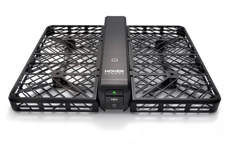 Дрон Hover Camera умеет снимать сэлфи