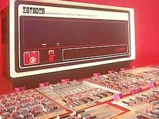 Мини-компьютеры компании DEC — семейство PDP - 27