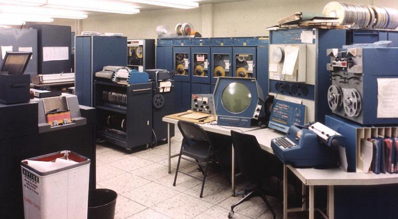 Мини-компьютеры компании DEC — семейство PDP - 5
