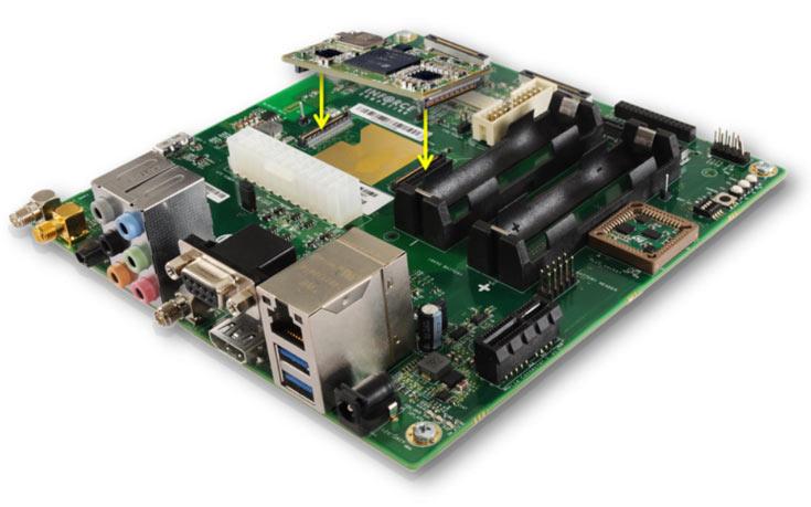 Одноплатный микрокомпьютер Inforce 6601 предназначен для встраиваемых систем