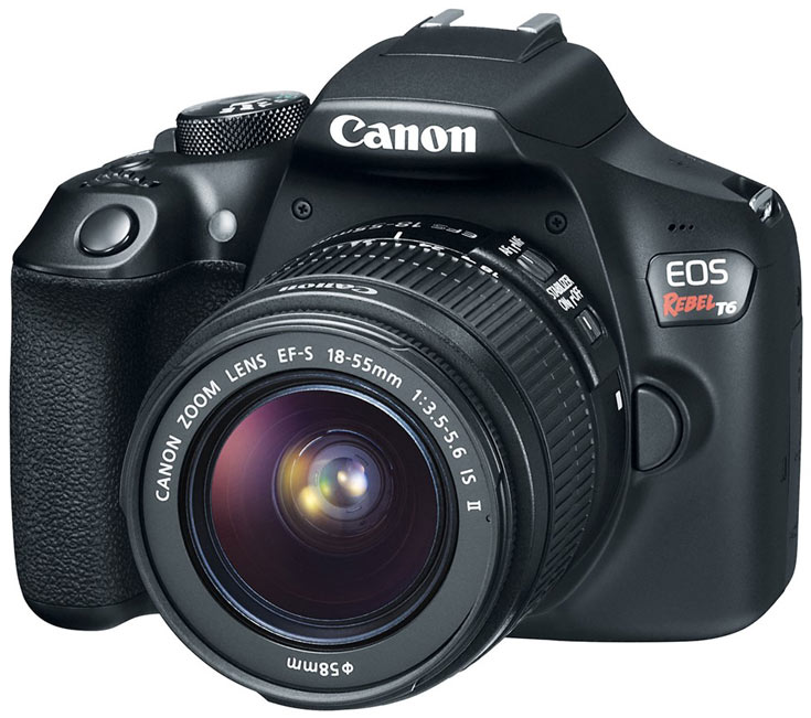 Камера Canon EOS 1300D в комплекте с объективом EF-S 18-55mm f/3.5-5.6 IS II оценена в $550