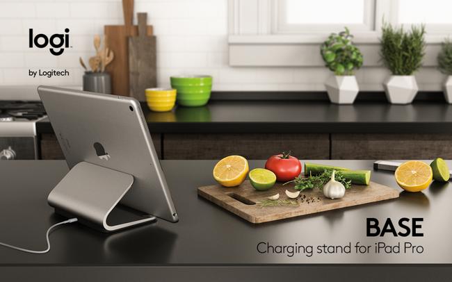 Зарядная подставка Logi Base для iPad Pro предлагается за $100