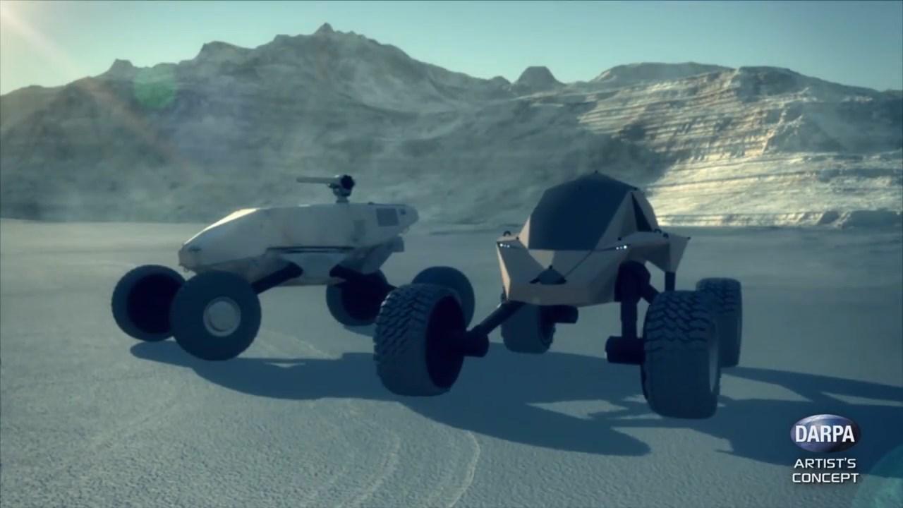 DARPA заказало разработку футуристических боевых машин - 1