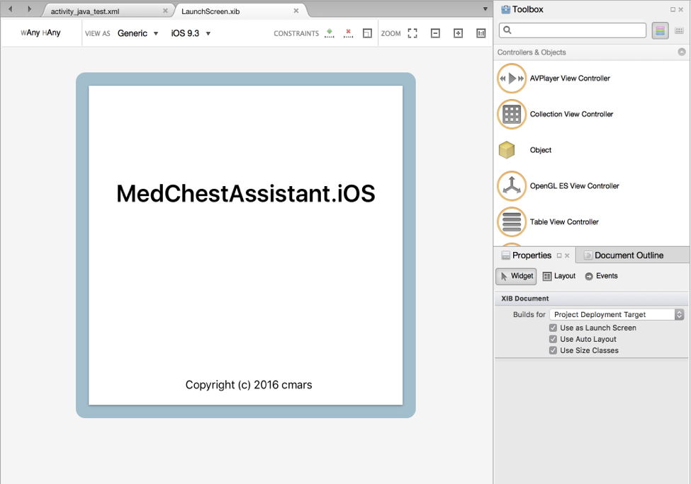 Xamarin Forms в действии. Medchest Assistant - 4