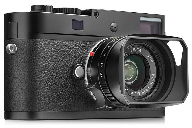 В камере Leica M-D (Typ 262) установлен полнокадровый датчик типа CMOS разрешением 24 Мп