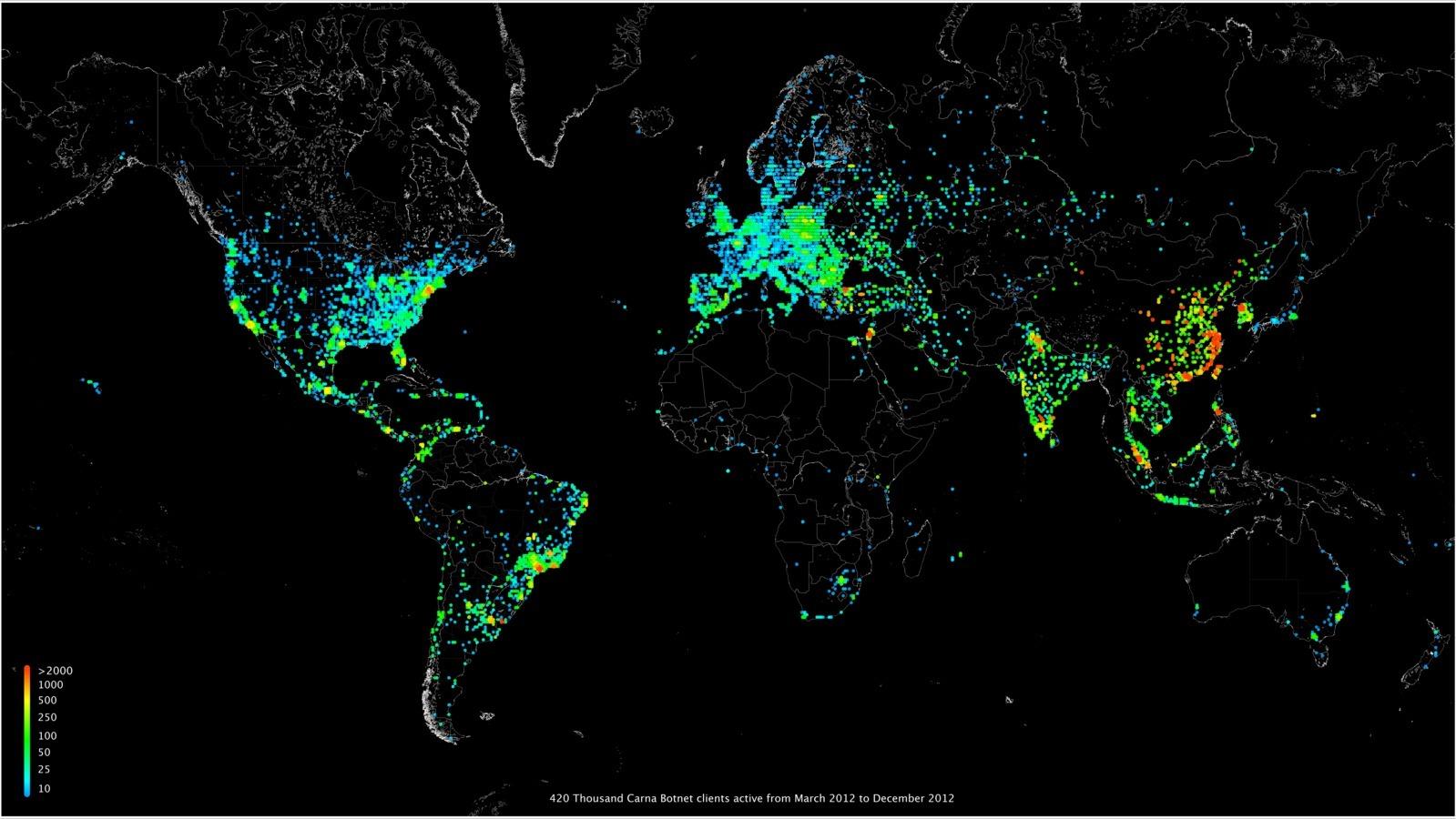 Насколько велик интернет? - 2