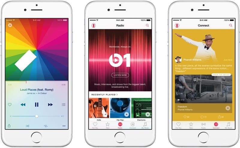 Сервис Apple Music продолжает набирать популярность