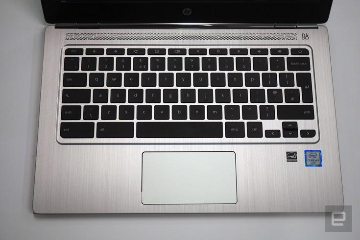 HP представила хромбук Chromebook 13