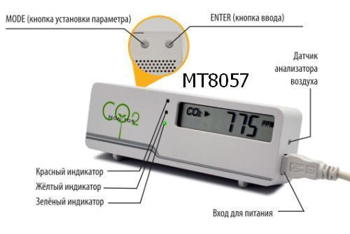 Управляем вентиляцией с помощью детектора углекислого газа MT8057 - 2