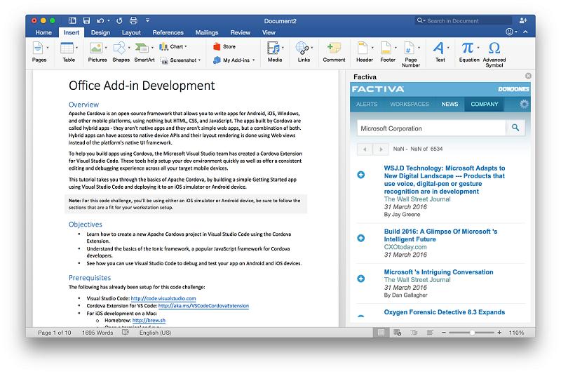 Office как платфома для разработки набирает обороты - 8