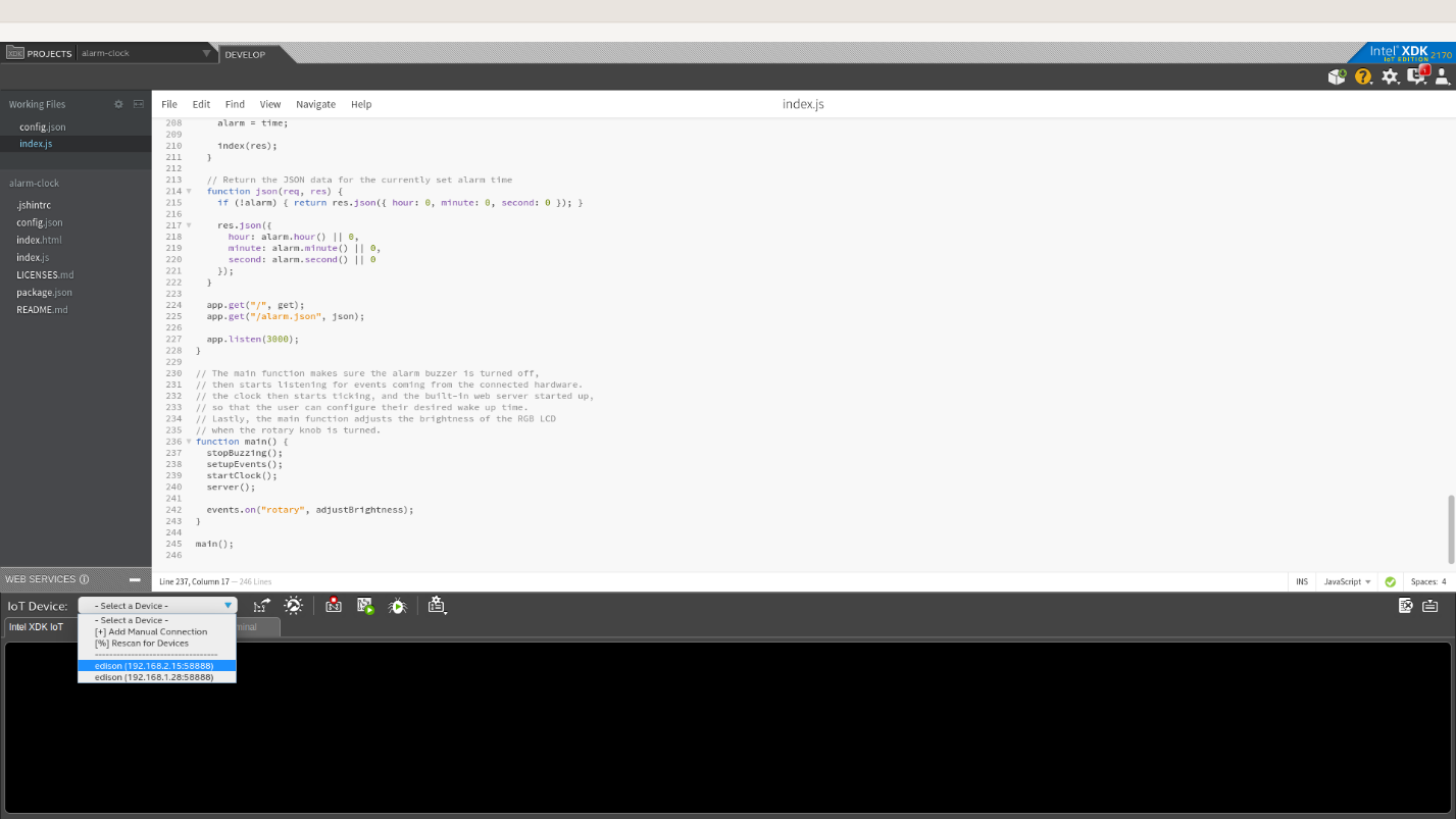 Примеры кода для интернета вещей: умная поливалка - 4