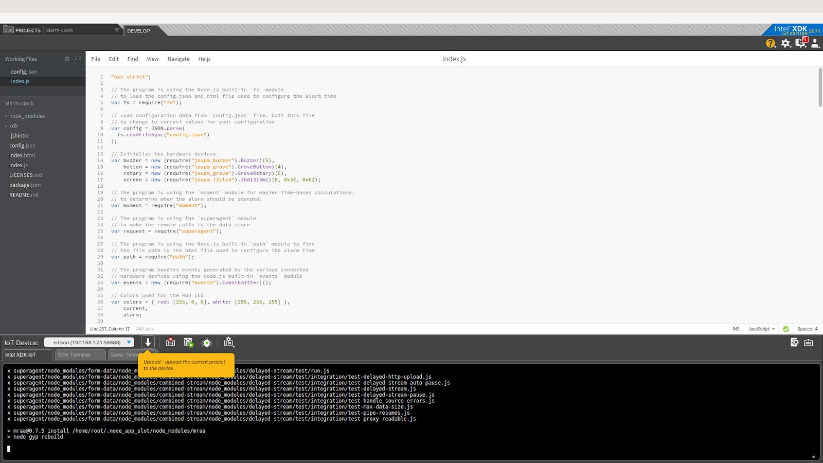 Примеры кода для интернета вещей: умная поливалка - 6