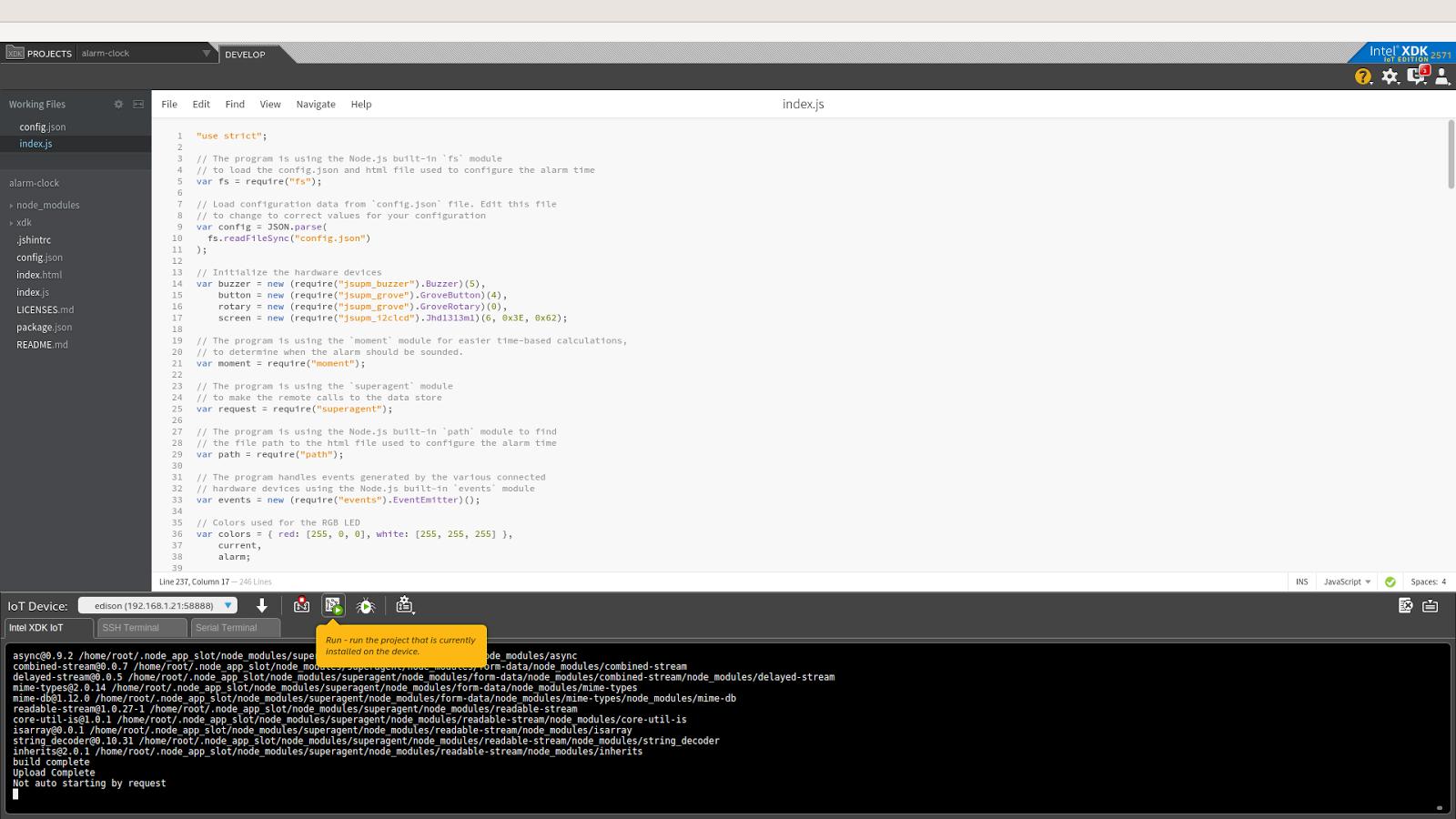 Примеры кода для интернета вещей: умная поливалка - 7