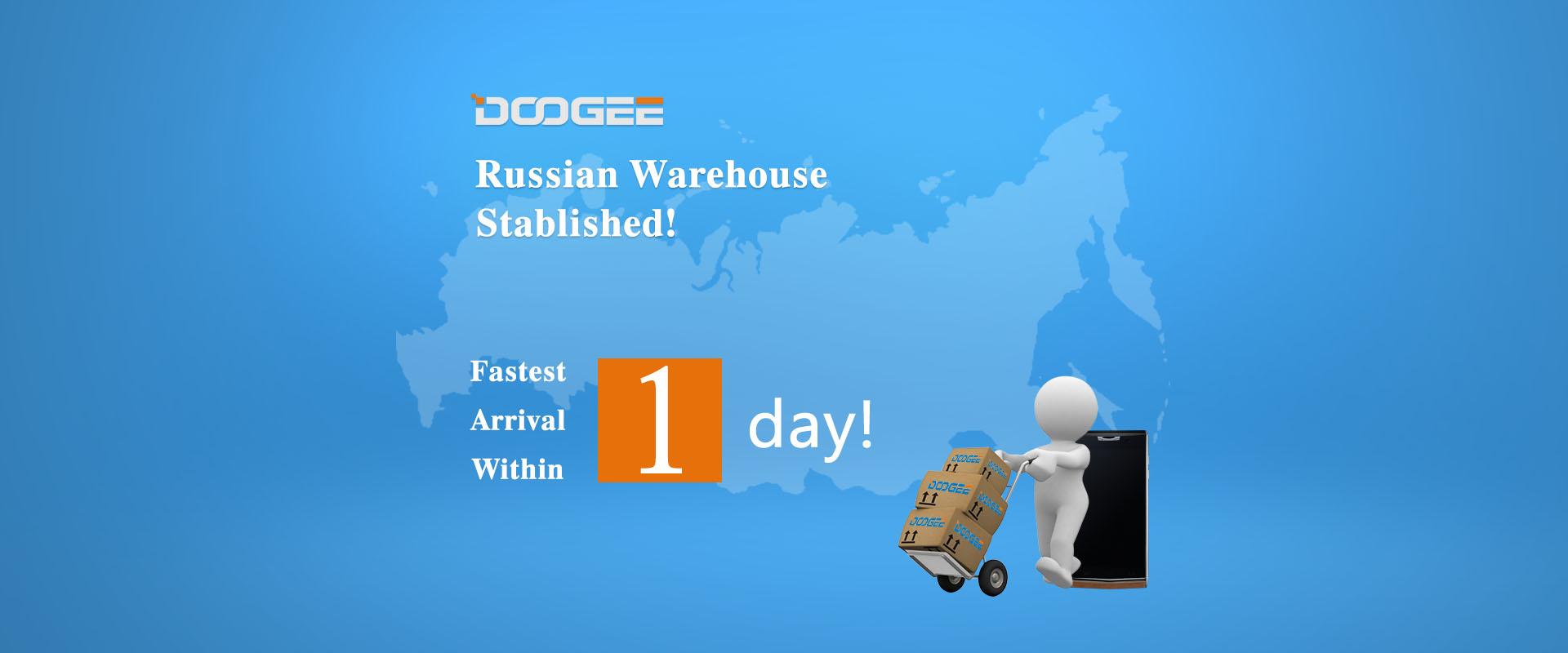 Китайский производитель Doogee открывает склад и сервисные центры в России