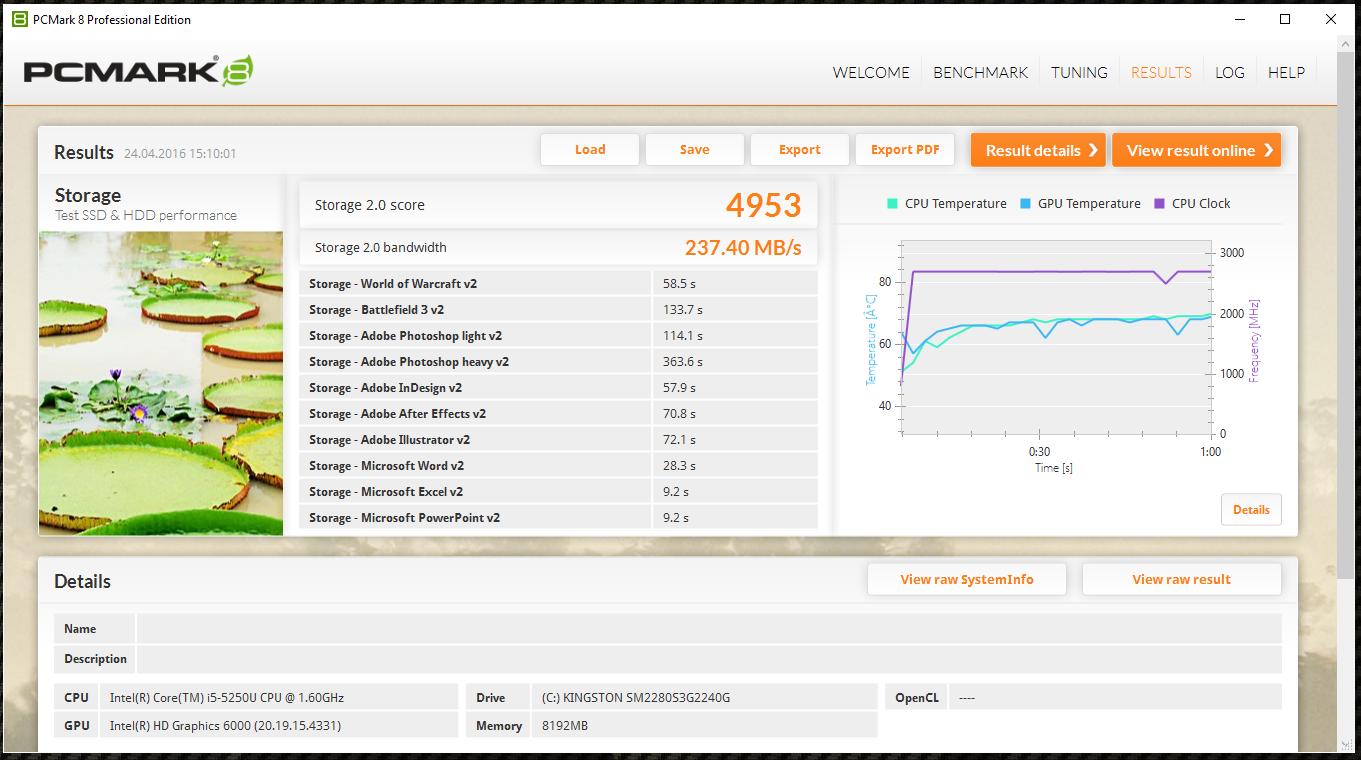 Обзор миниатюрного SSD форм-фактора M.2 — Kingston SM2280S3G2 емкостью 240 гигабайт - 12