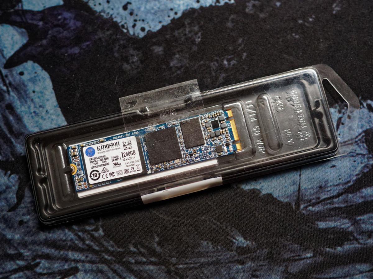Обзор миниатюрного SSD форм-фактора M.2 — Kingston SM2280S3G2 емкостью 240 гигабайт - 2
