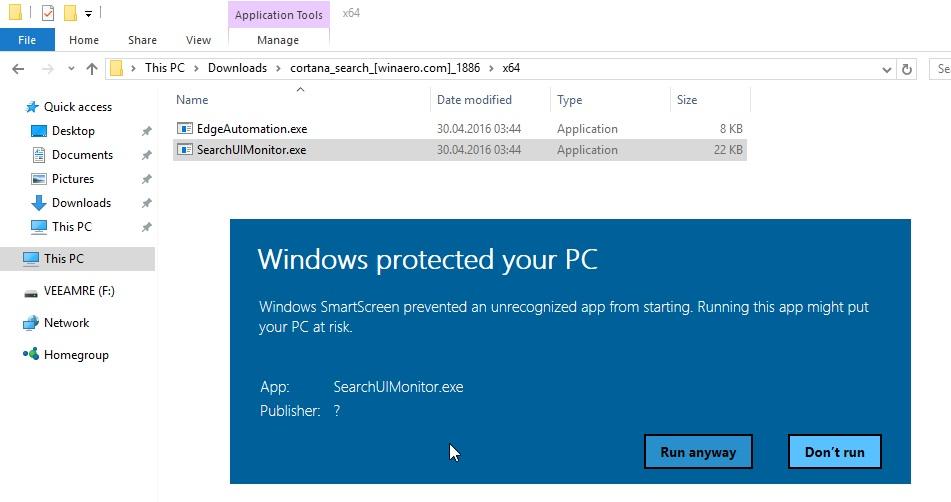 Ограничение Microsoft на запрет чужих браузеров во встроенном поиске Windows 10 можно обойти - 2
