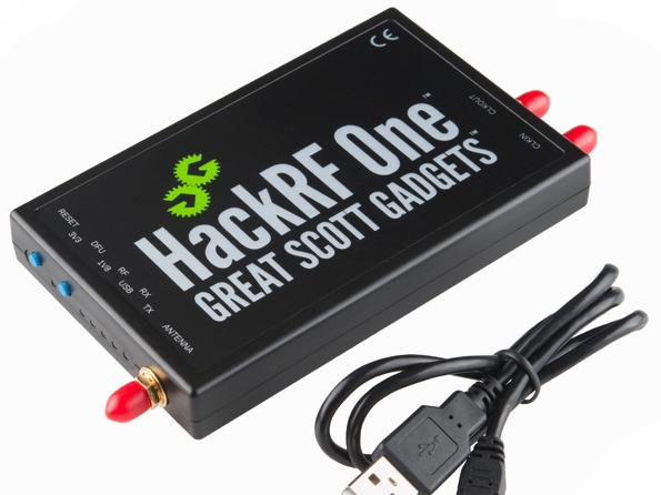 Передача радиосигналов с помощью HackRF - 1