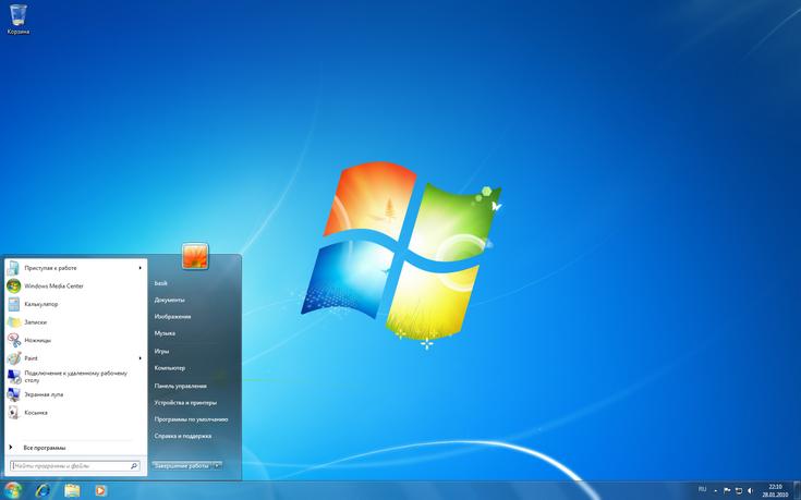 Windows 7 продолжает безоговорочно лидировать на рынке настольных ОС
