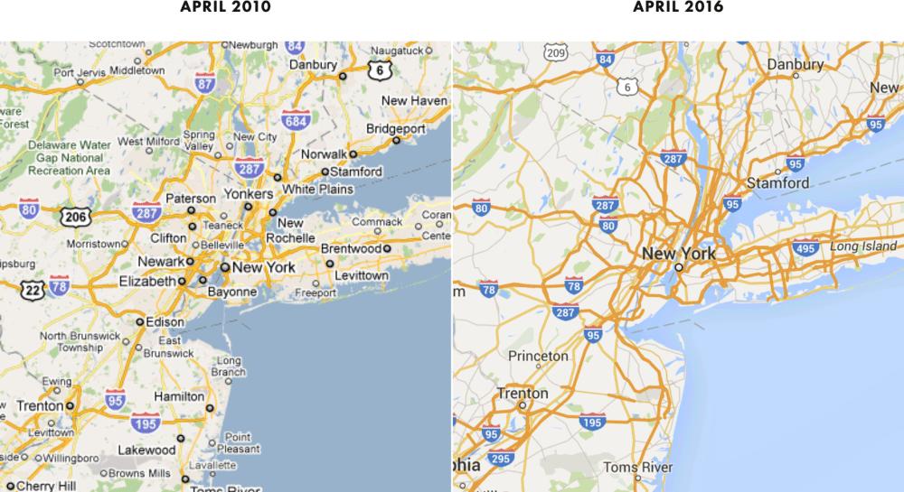 Что случилось с Google Maps? - 1