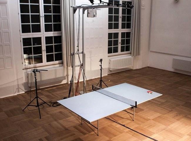 Интерактивный стол для пинг-понга поможет в тренировках