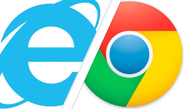 Chrome обогнал Internet Explorer в рейтинге популярности браузеров - 1
