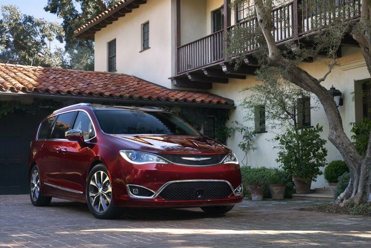 Google выбрала минивэны Chrysler Pacifica для своих исследований в области беспилотных авто