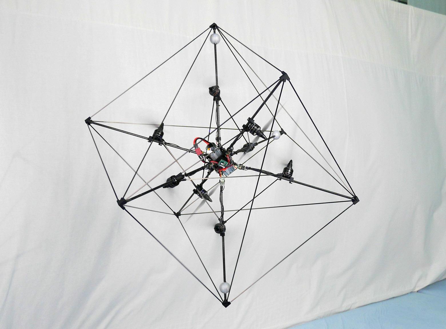 Первый в мире асимметричный дрон с одной подвижной частью - 5