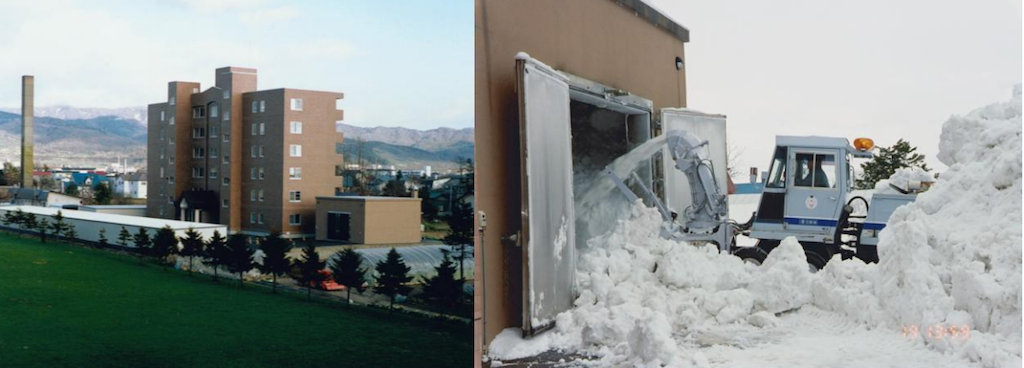 Снежная система охлаждения. White Datacenter Project - 2