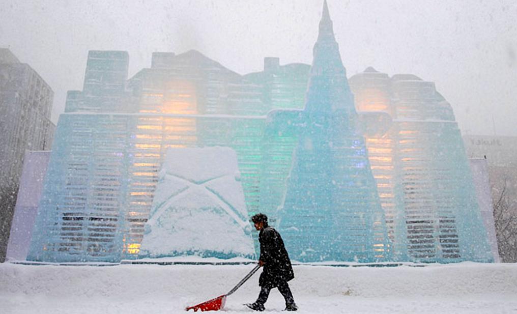 Снежная система охлаждения. White Datacenter Project - 1