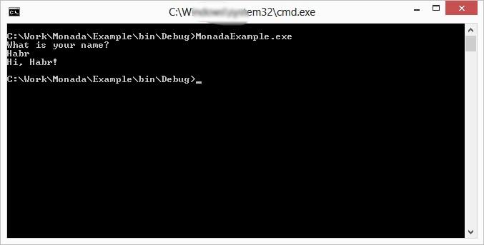 Как написать монаду IO на C# (не) без помощи параллельной вселенной и машины времени - 2