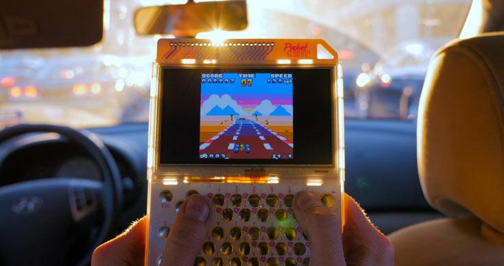 Игровая консоль PocketC.H.I.P.