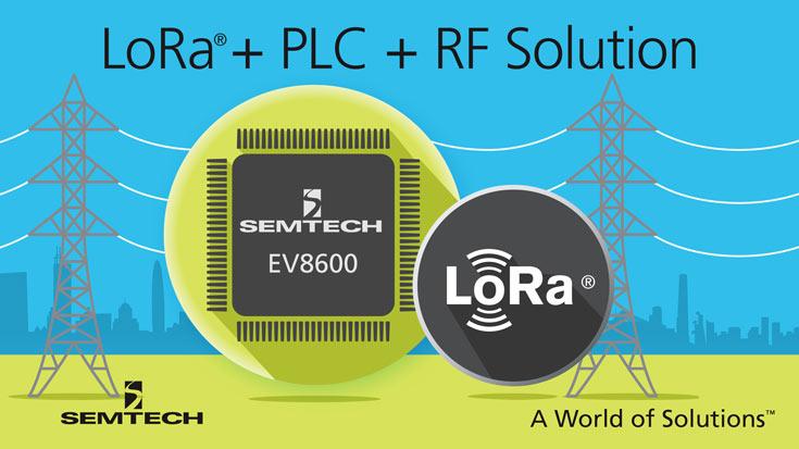 Semtech EV8600 работает в проводных и беспроводных сетях
