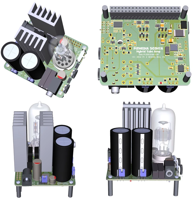 Pi 2 Design 503HTA: ламповый звук и вид для владельцев Raspberry Pi